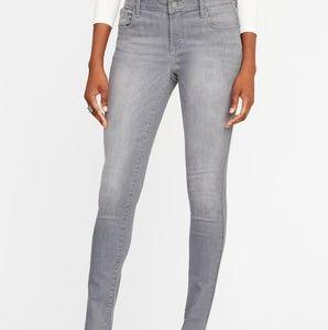 Grey Old Navy Rockstar Jeans